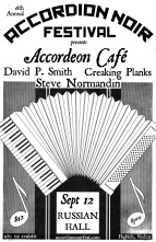 Accordion Cafe, Thurs Sept 12